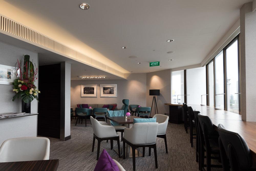 Seats  Executive Lounge - Singapore Marriott Tang Plaza Hotel