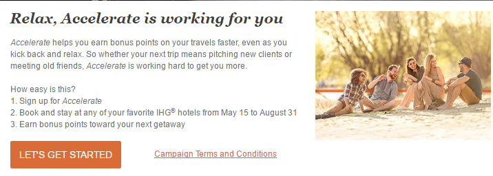 IHG Rewards Club Accelerate Promotion is Back - 15 May to 31