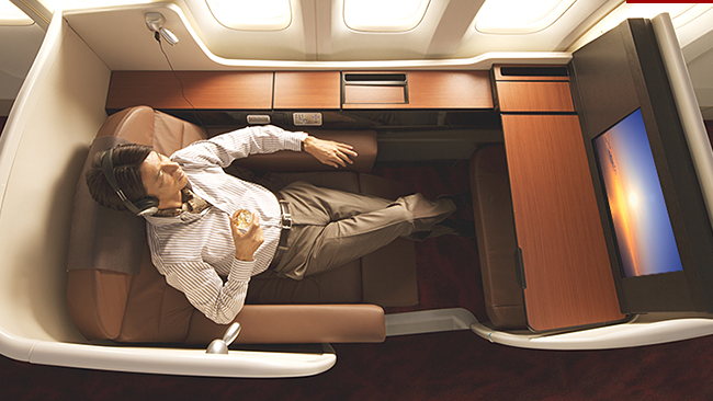 First Class | Photo Credit: Japan Airlines