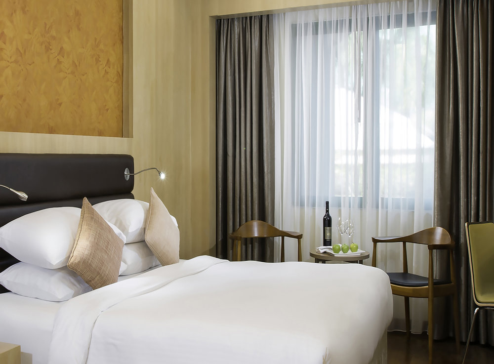 Deluxe Room | Photo Credit: Mercure Yangon Kaba Aye