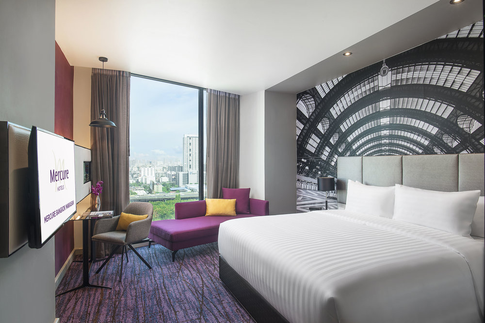 Guest Room | Photo Credit: Mercure Bangkok Makkasan