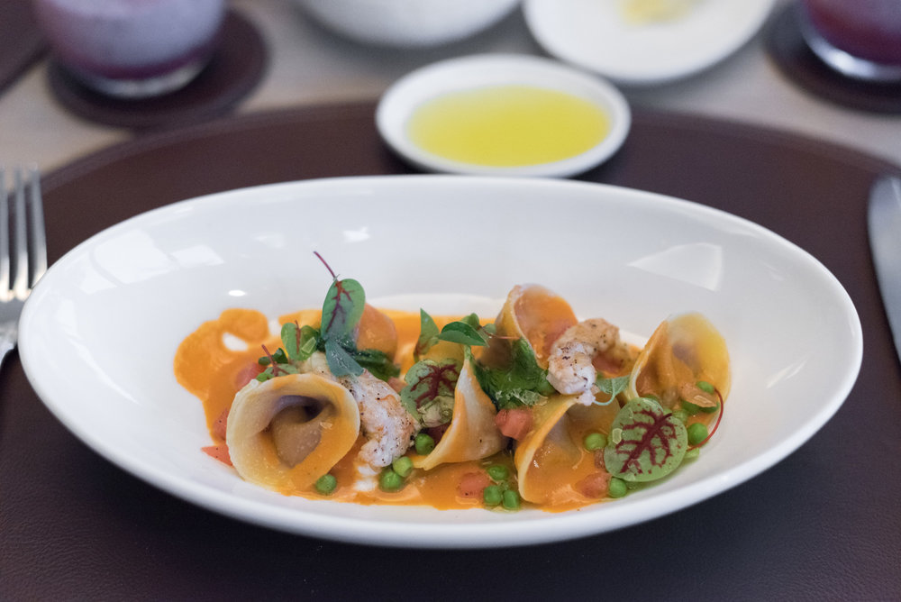 Tortelli (S$36++)  Dolce Vita - Mandarin Oriental, Singapore