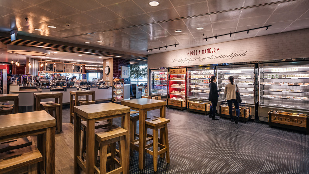 Pret A Manger - Changi Airport | Photo Credit: Emirates Leisure Retail
