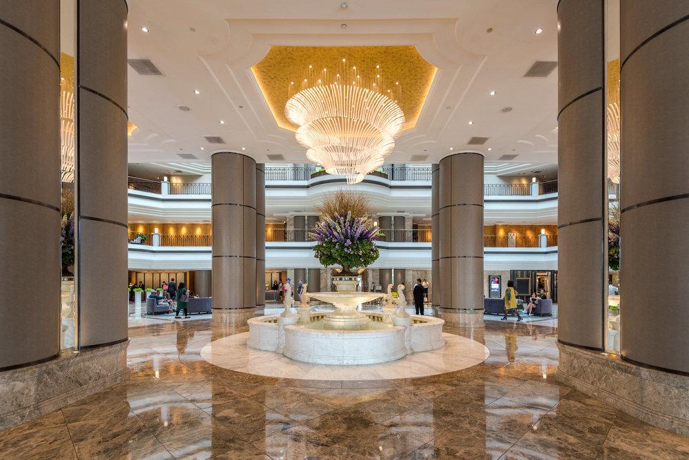Hotel Lobby Grand Hyatt Taipei
