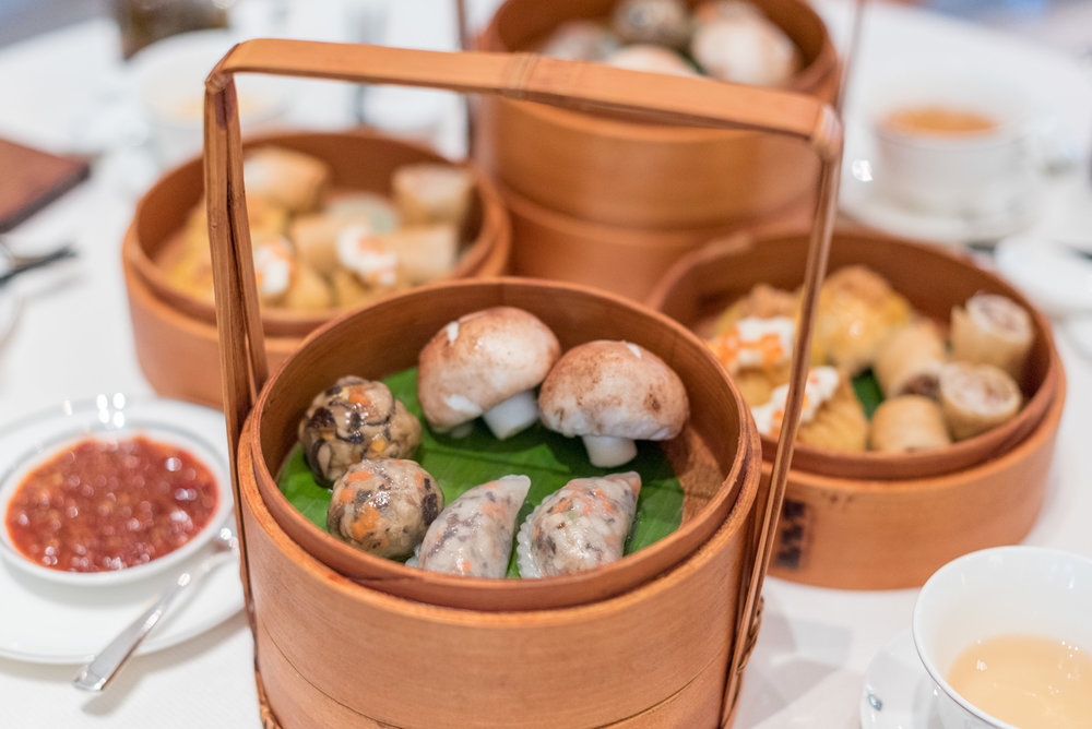 Oriental Dim Sum Afternoon Tea Set (S$39.90++)  Weekend Dim Sum Afternoon Tea at Cassia - Capella Singapore