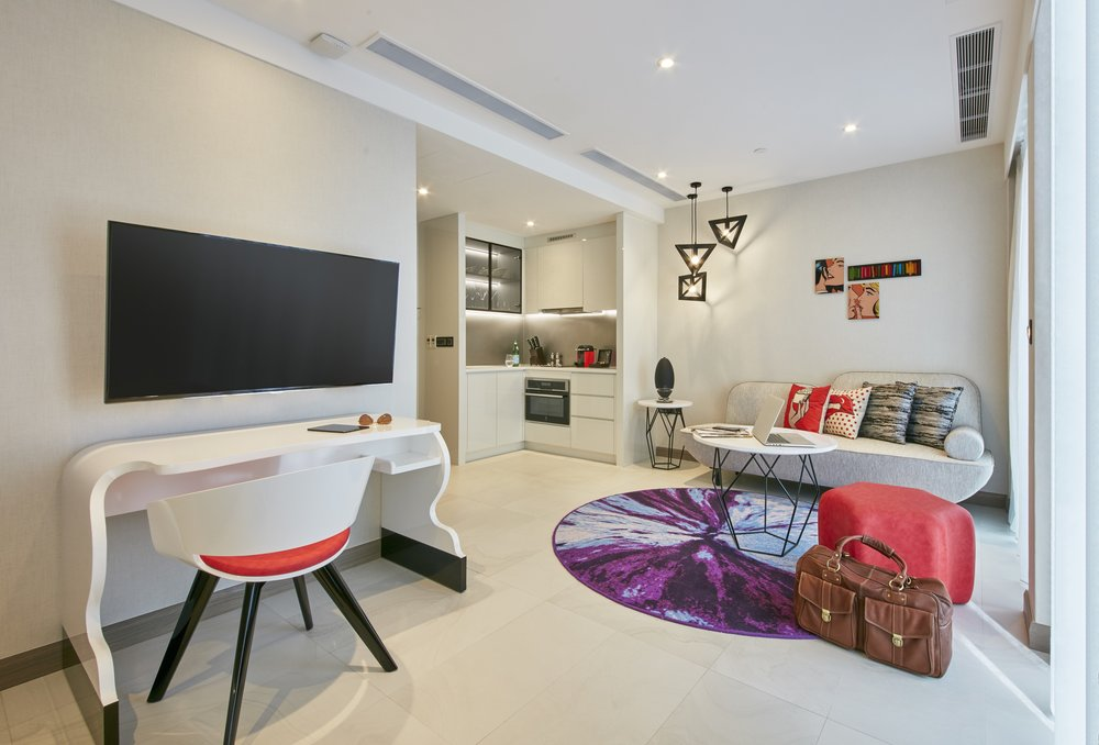 Studio | Photo Credit: Oakwood Studios Singapore