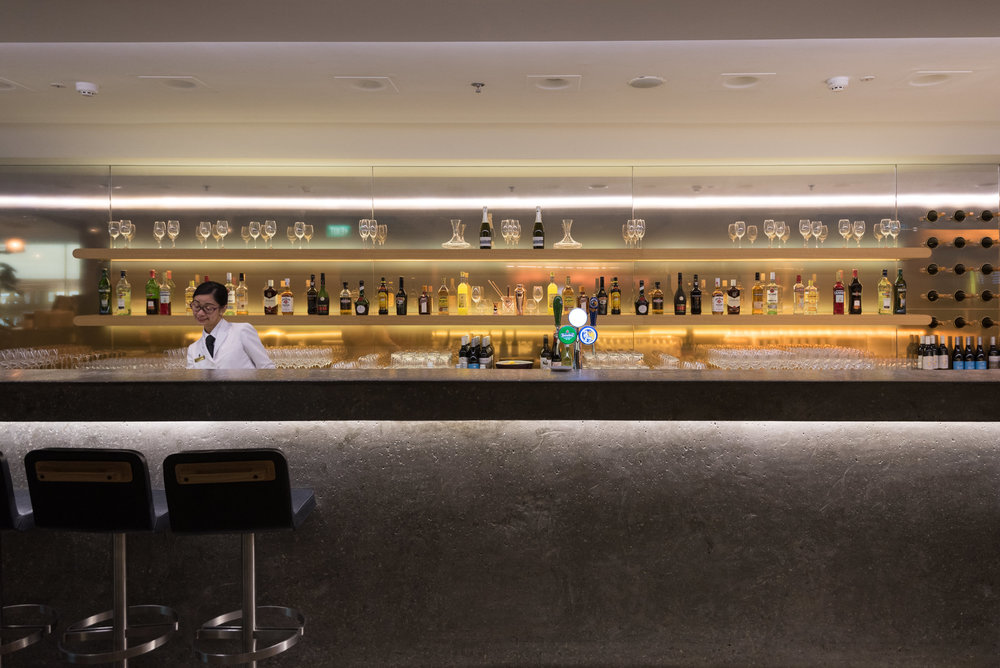 Bar The Qantas Singapore Lounge - Singapore Changi Airport