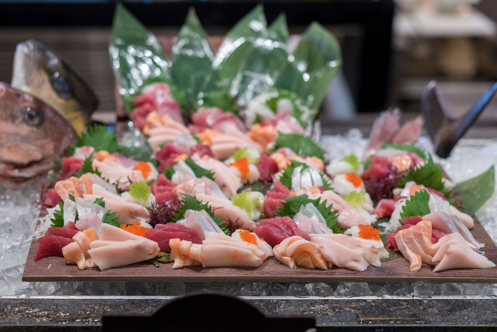 Fresh Sashimi - Supercharged Sunday Brunch Oscar's - Conrad Centennial Singapore