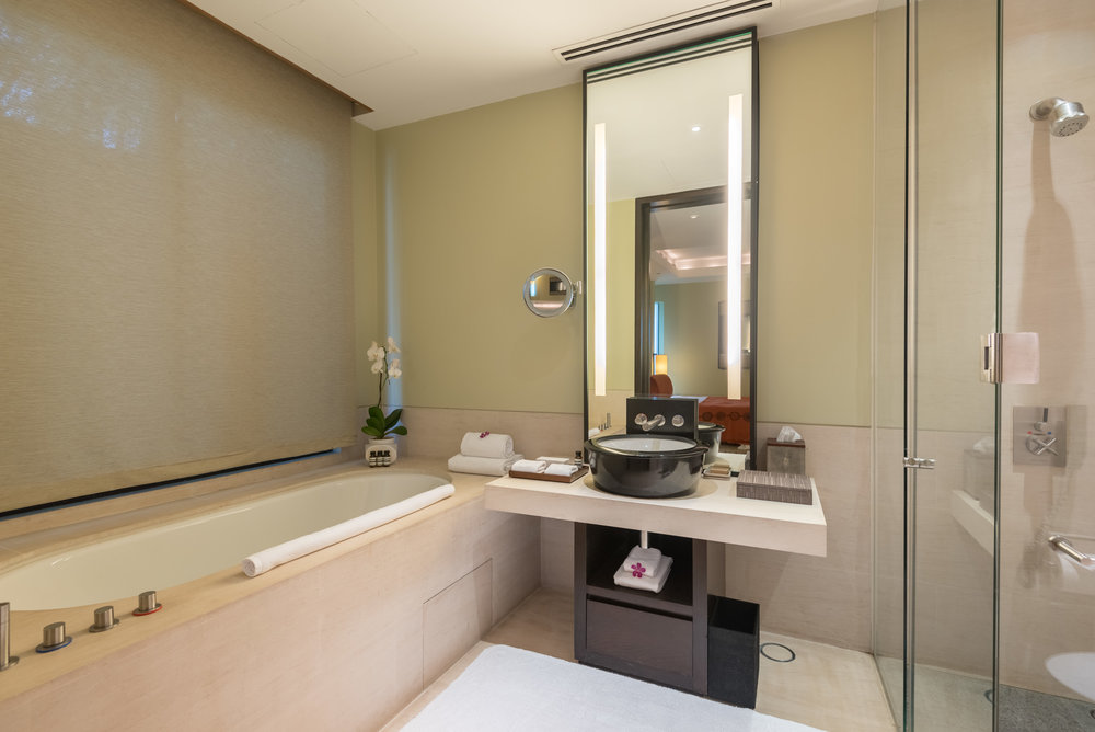 Bathroom  Two-Bedroom Garden Villa - Capella Singapore