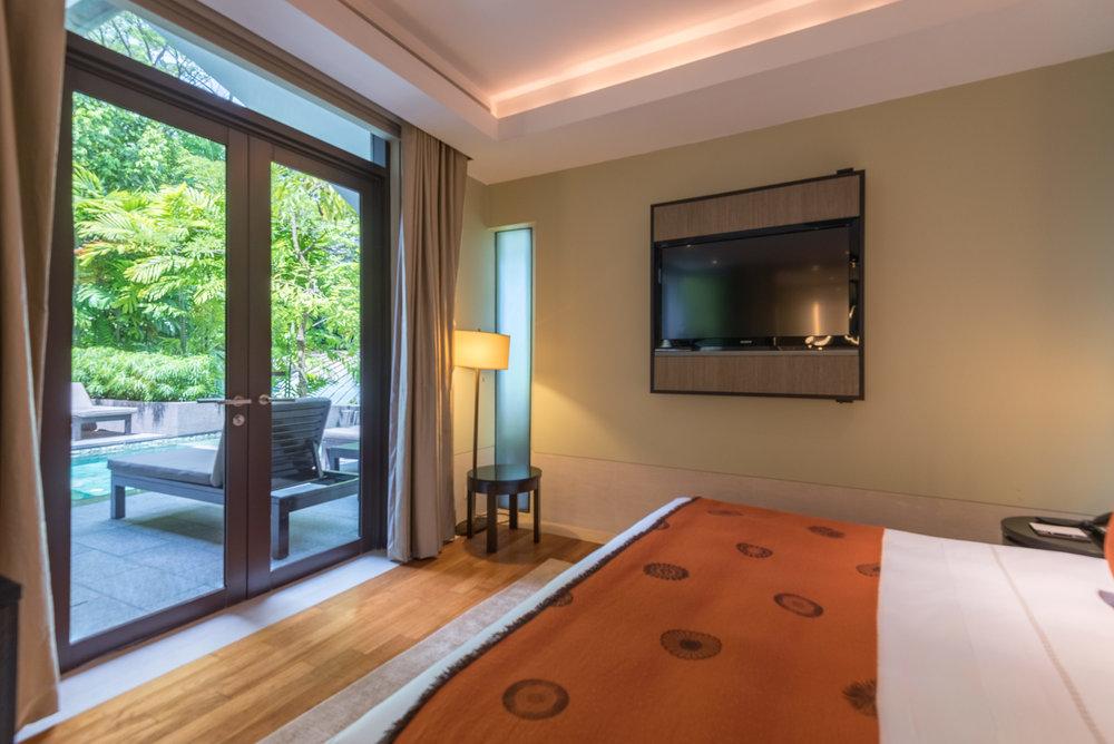 Bedroom  Two-Bedroom Garden Villa - Capella Singapore