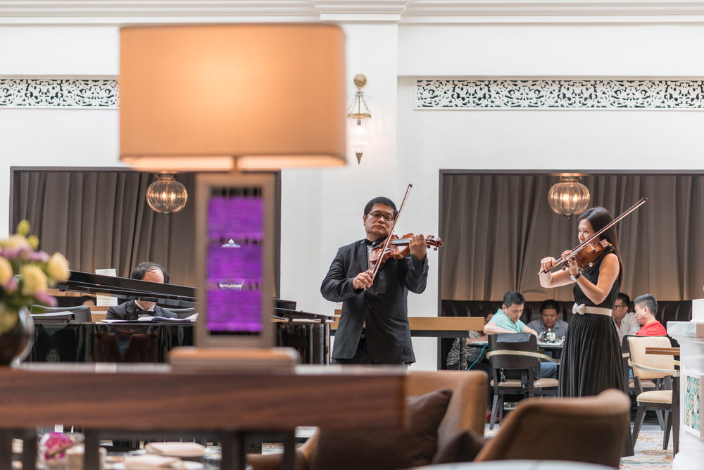 Live Music  The Lobby Lounge - InterContinental Singapore