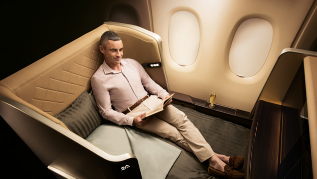 First Class on 777-300ER | Photo Credit: Singapore Airlines