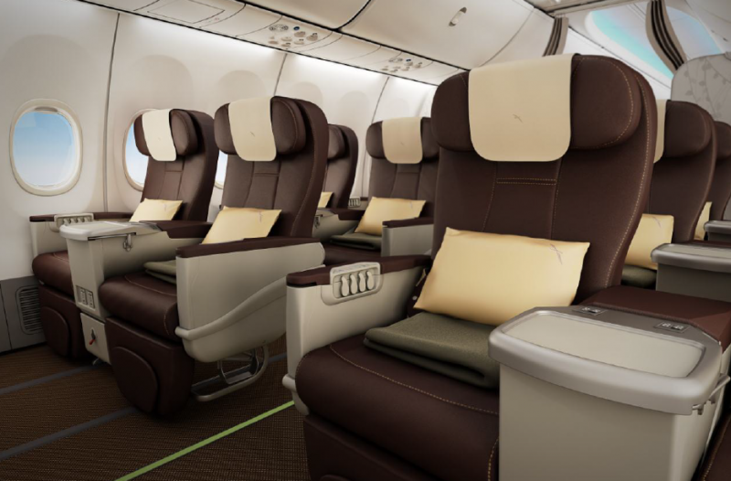 Business Cabin | Photo Credit: SilkAir