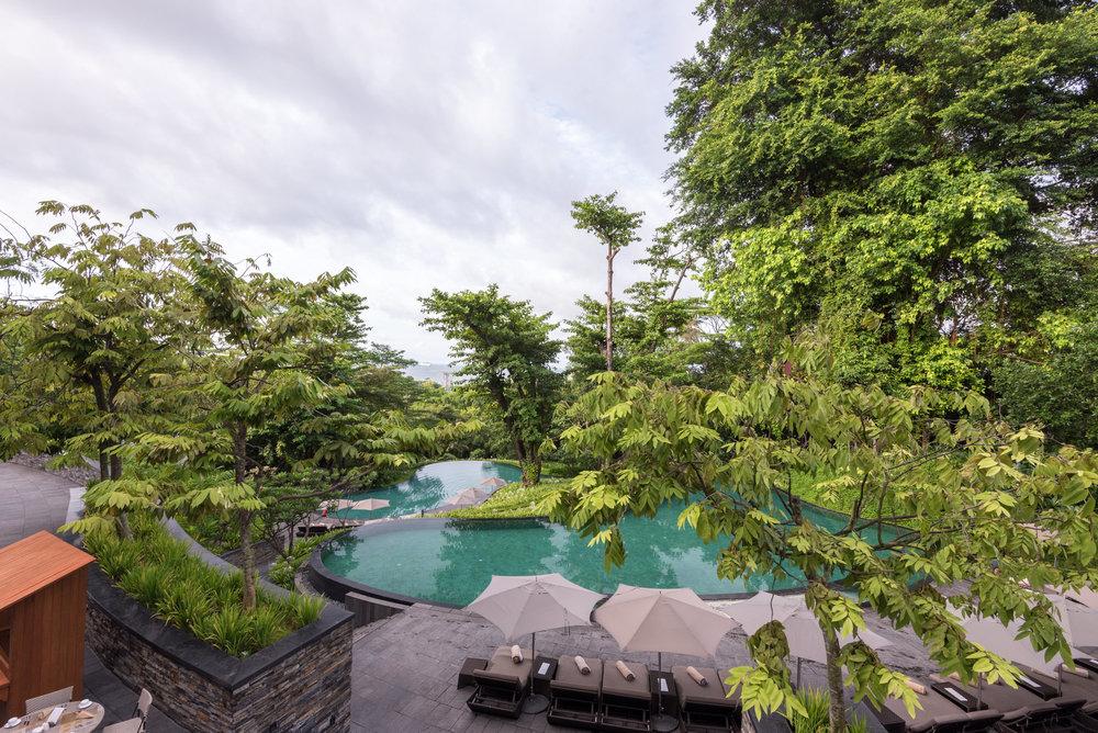 Swimming Pool  Capella Singapore