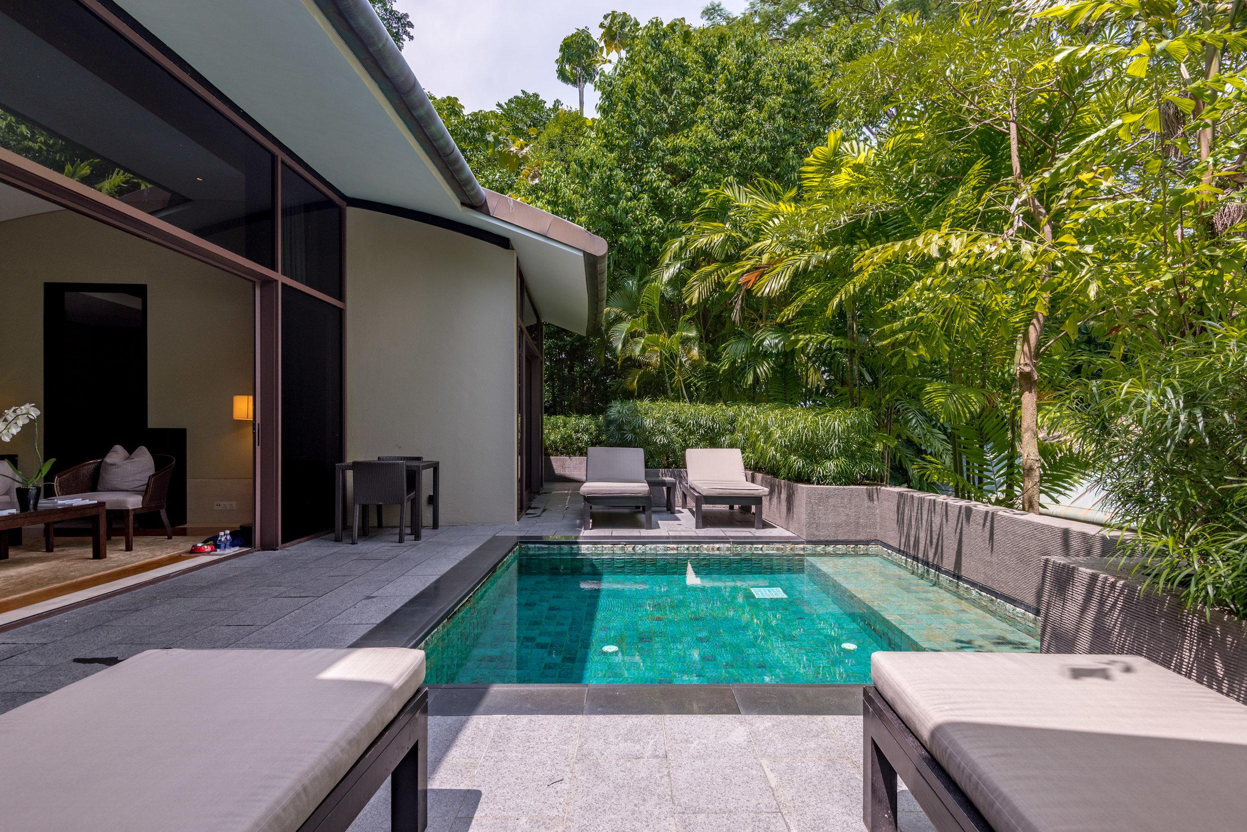 Private Plunge Pool Two Bedroom Garden Villa   Capella Singapore