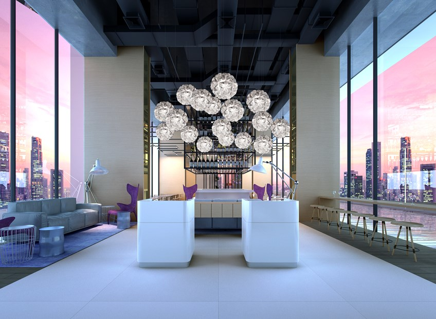 Restaurant | Photo Credit: YOTEL Singapore