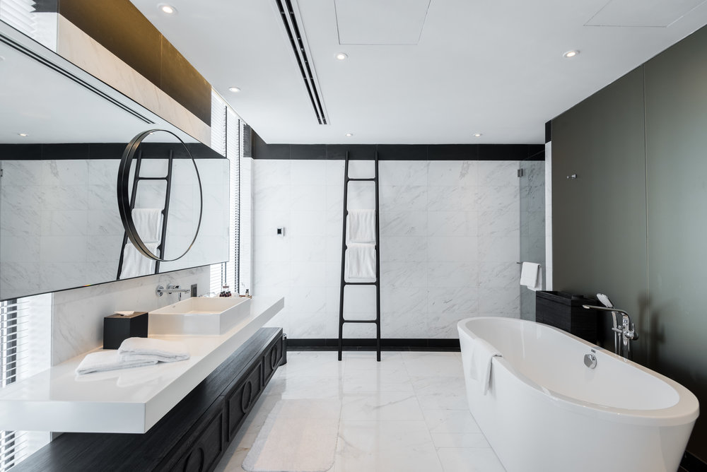 Bathroom  Premier Suite - G Hotel Kelawai