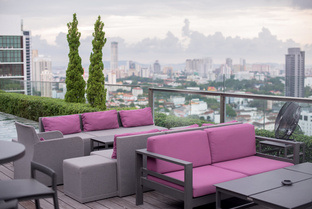 Rooftop Bar  Gravity - G Hotel Kelawai