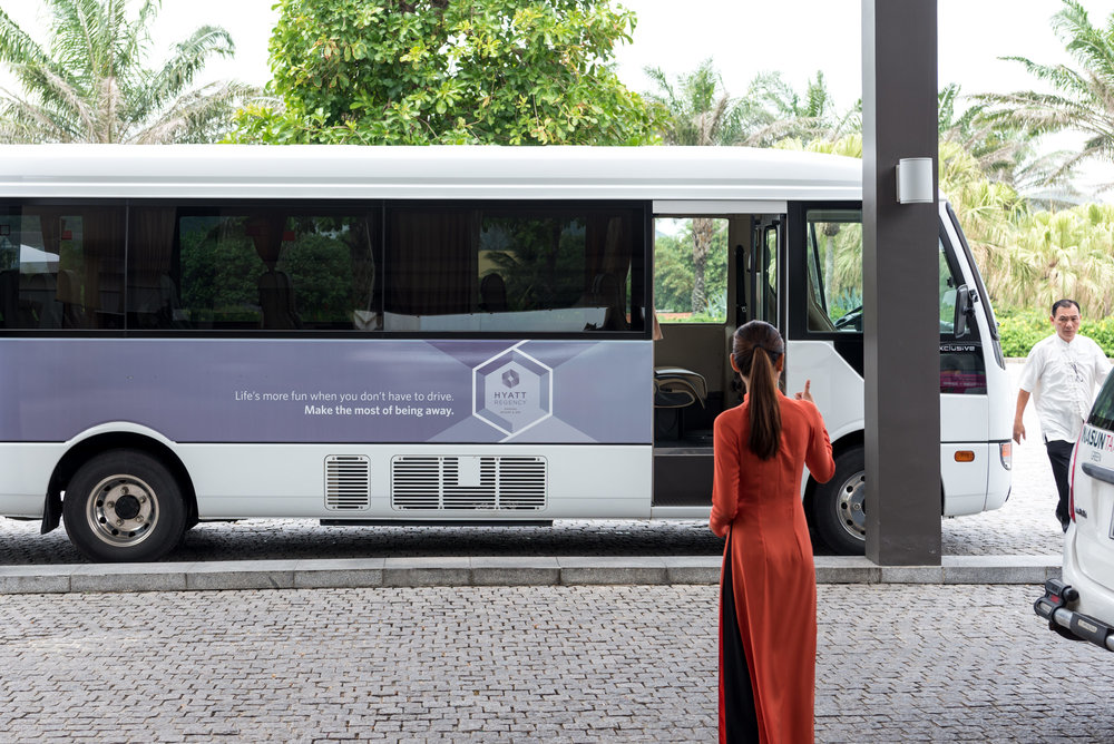 Hotel Shuttle to Hoi An Hyatt Regency Danang Resort and Spa