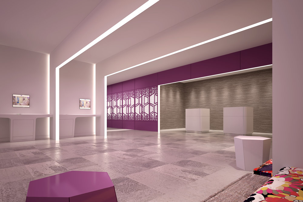 Hotel Lobby | Photo Credit: YOTEL Singapore
