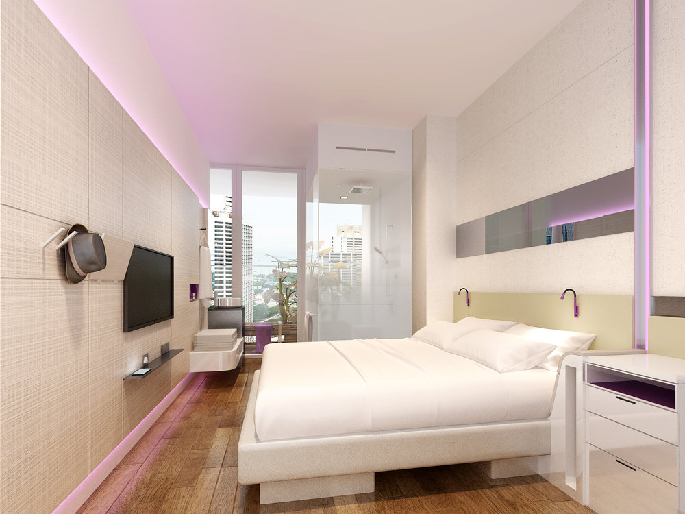 Premium Room | Photo Credit: YOTEL Singapore