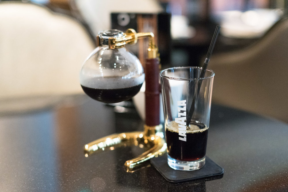 Cold Brew Coffee - Afternoon Tea One-Ninety Bar - Four Seasons Hotel Singapore