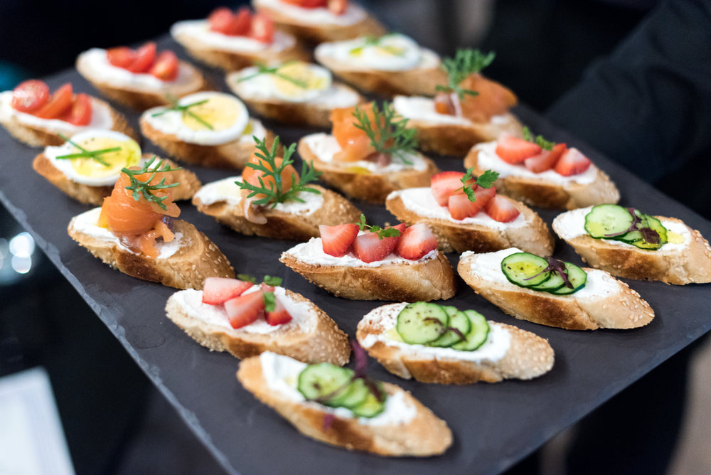 Open Faced Sandwiches - Afternoon Tea One-Ninety Bar - Four Seasons Hotel Singapore