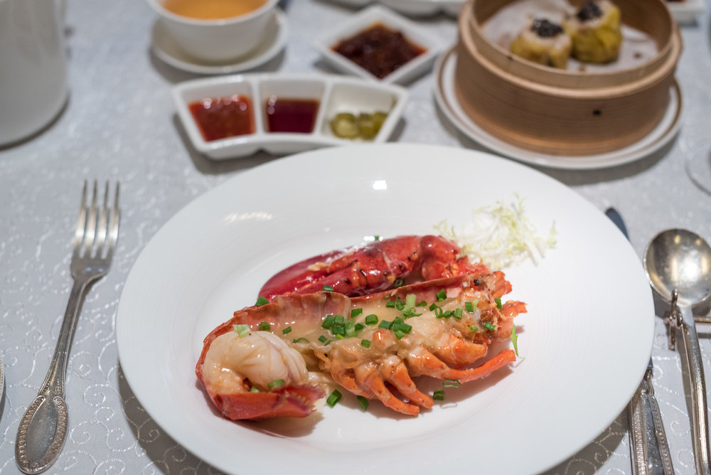 Champagne and Dim Sum at Yan Ting  The St. Regis Singapore