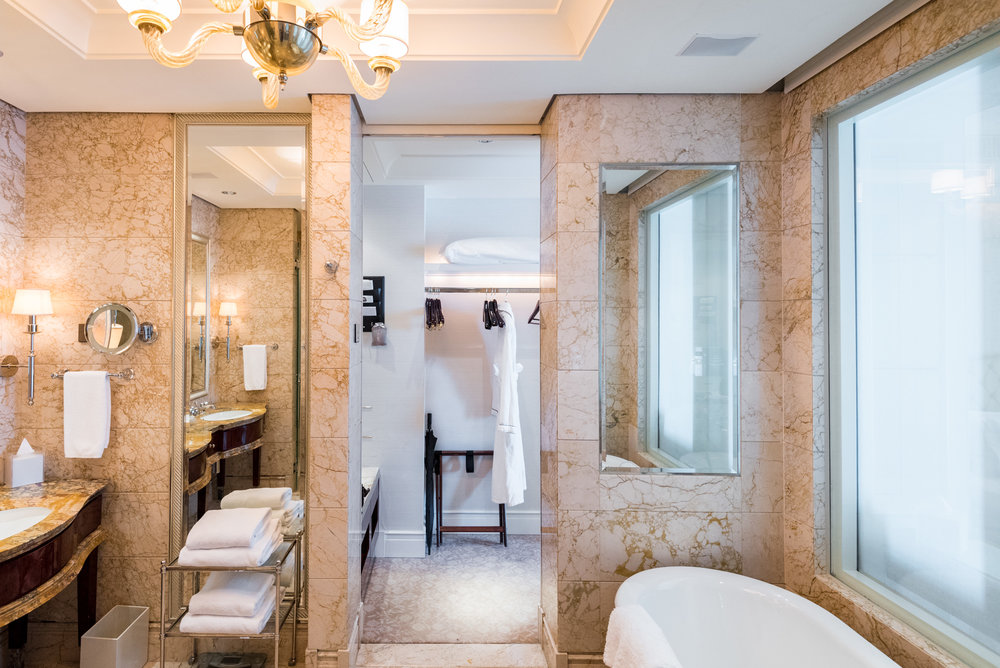 Dreamy Bathrooms and Amenities  The St. Regis Singapore