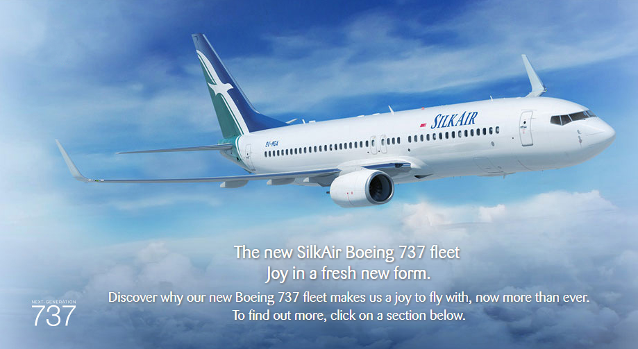 Boeing 737 800 Max: SilkAir Fleet Transition From Airbus A320s To Boeing 737