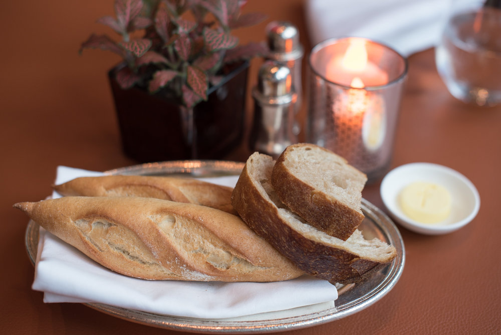 Fresh Bread and Butter La Brasserie - The Fullerton Bay Hotel Singapore