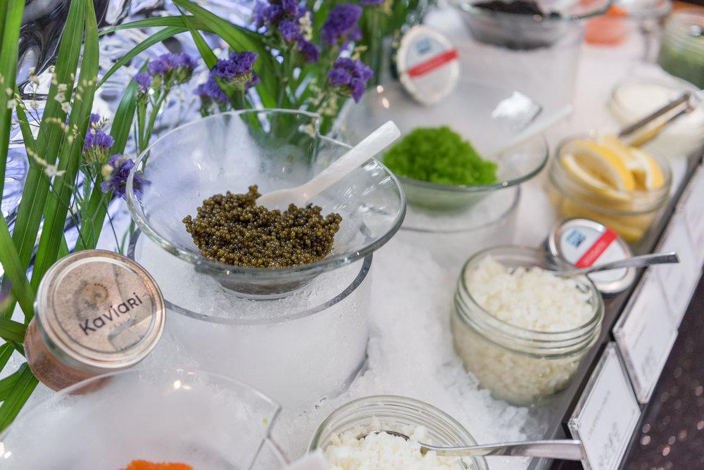 Caviar Bar  Ash & Elm - InterContinental Singapore