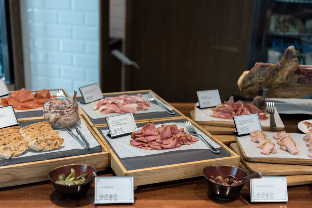 Charcuterie and Cheese Room Ash & Elm - InterContinental Singapore