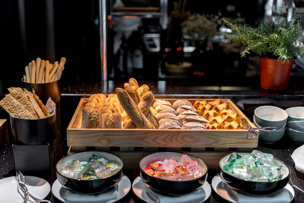 Fresh Breads  Ash & Elm - InterContinental Singapore