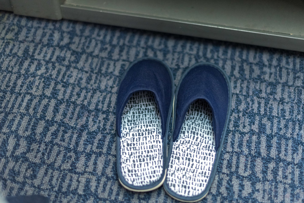 Slippers Air China CA969 Business - PEK to SIN
