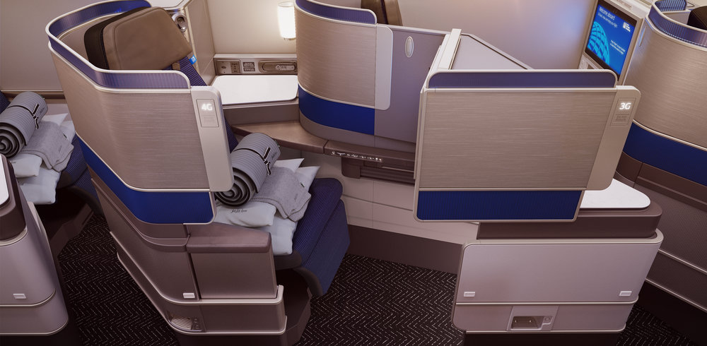 Polaris Business Class | Photo Credit: United Airlines