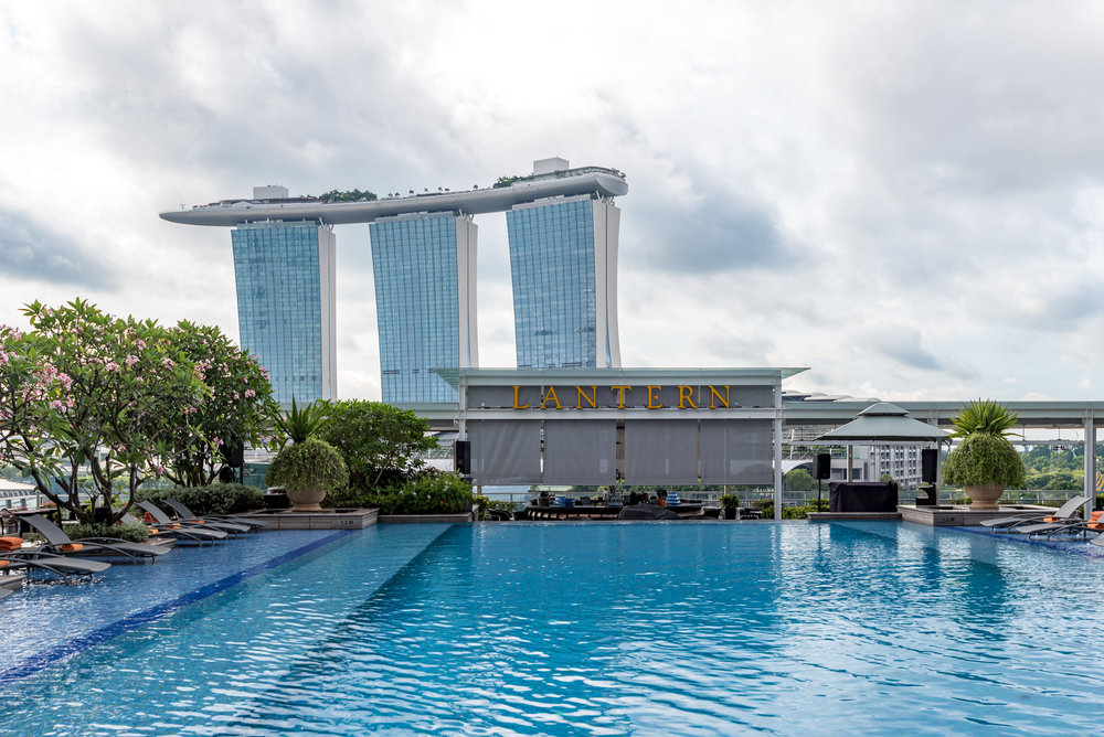 Swimming Pool The Fullerton Bay Hotel Singapore