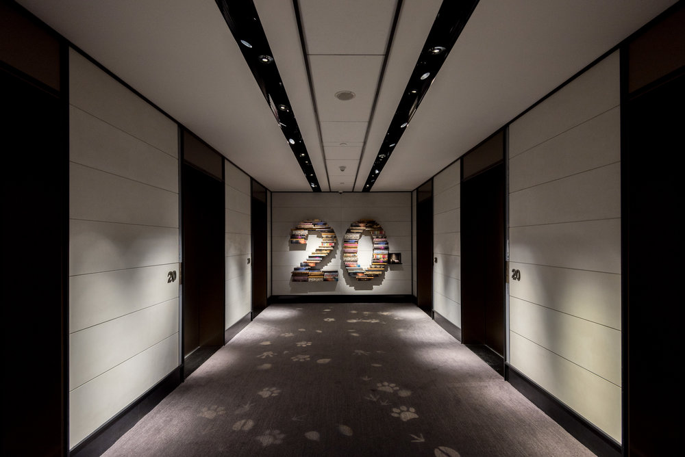 Lift Lobby  Level 20 - Hotel Jen Beijing