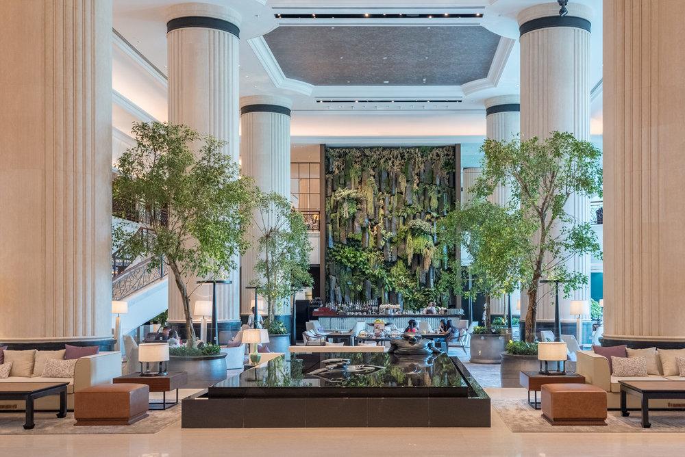 Hotel Lobby Shangri-La Hotel, Singapore