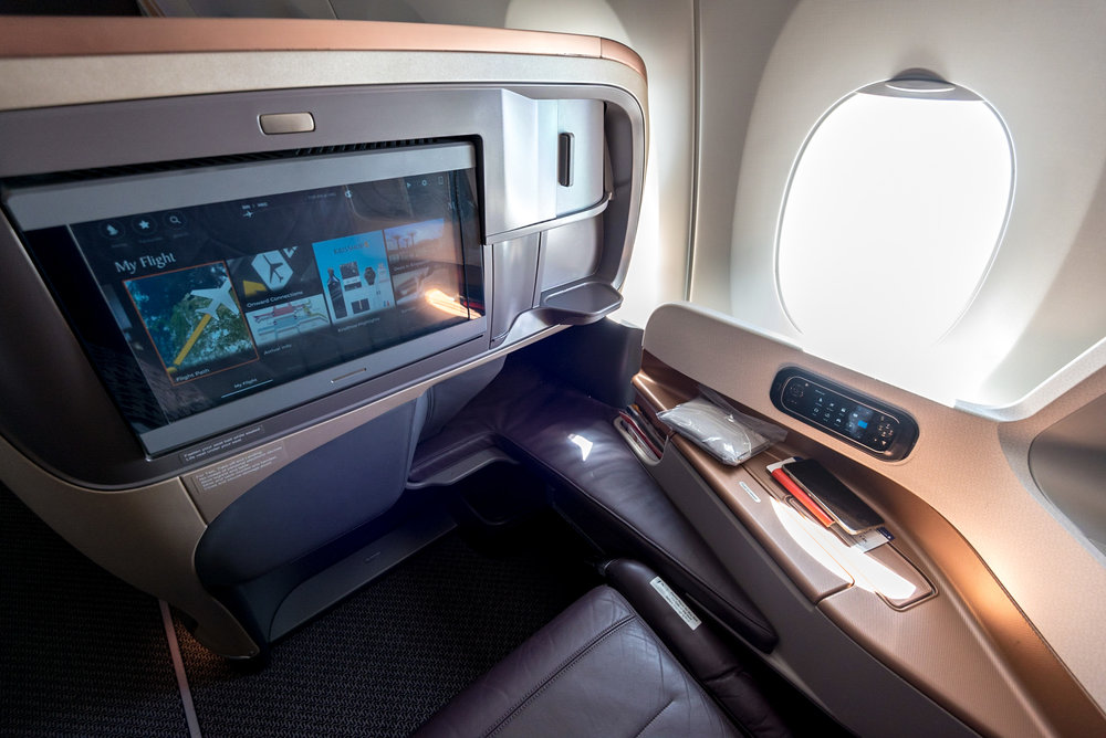 Business Class  Singapore Airlines' A350-900