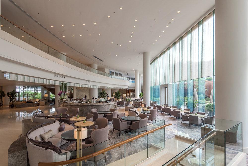 Hotel Lobby  Kerry Hotel, Hong Kong