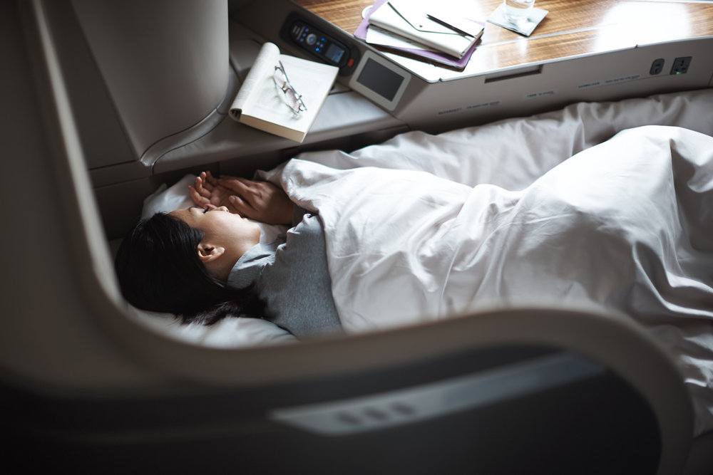 First Class Seat | Photo Credit: Cathay Pacific