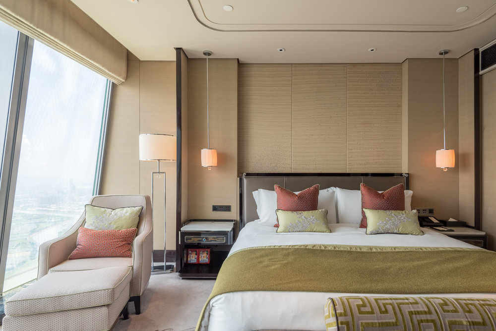 Bed  Deluxe Room - The St. Regis Shenzhen