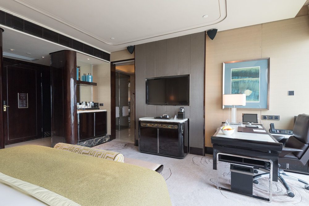 Entertainment System  Deluxe Room - The St. Regis Shenzhen