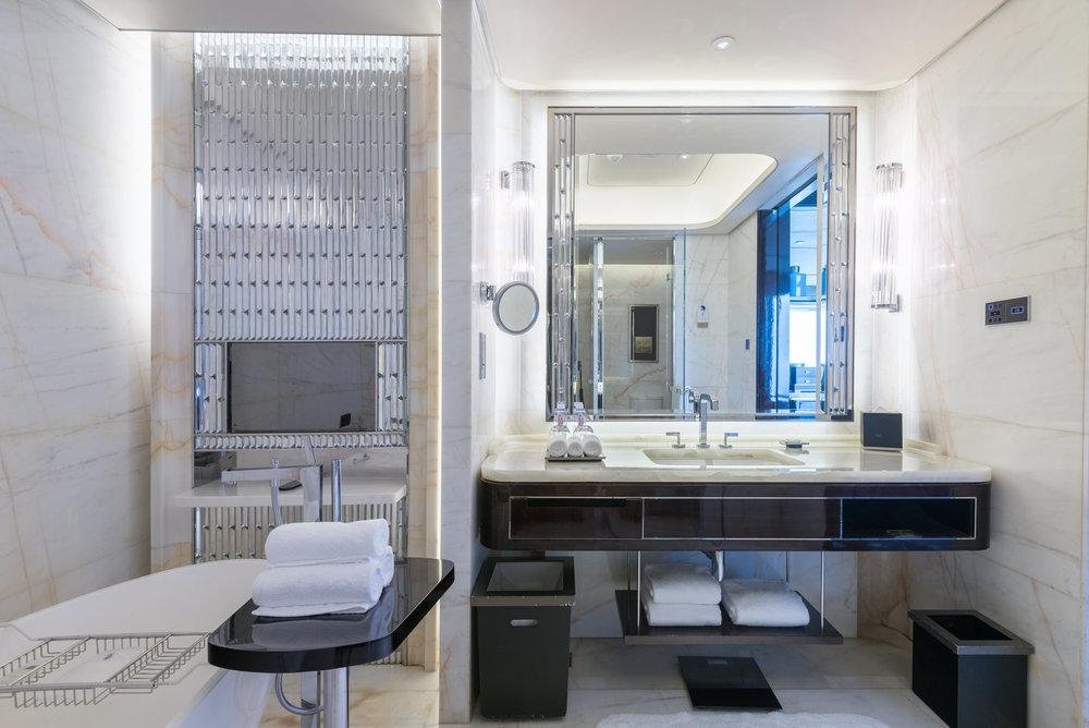 Bathroom  Deluxe Room -The St. Regis Shenzhen