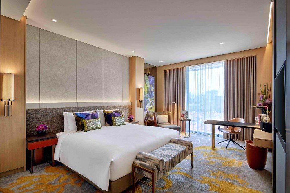 Luxury Premium Room | Photo Credit:Sofitel Singapore City Centre