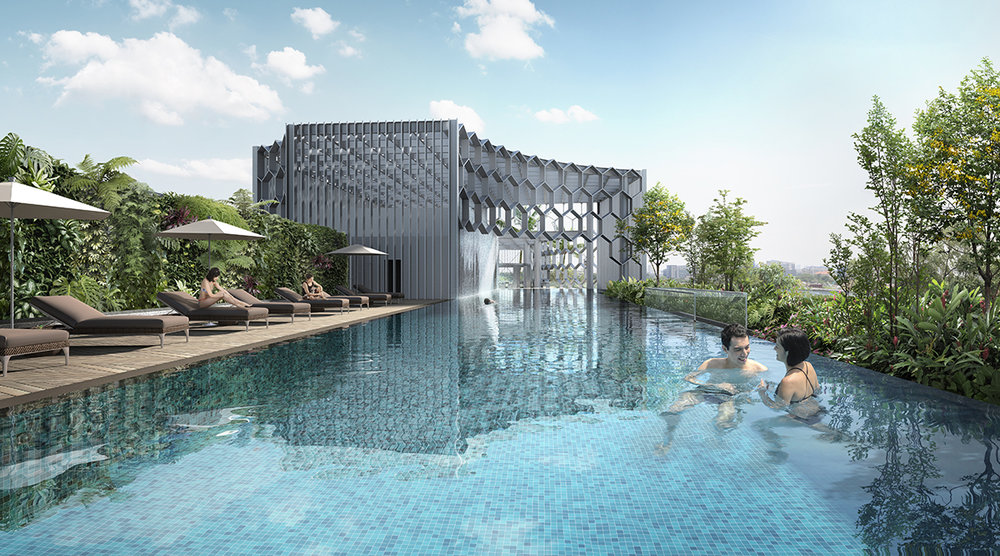 Swimming Pool | Photo Credit: Andaz Singapore