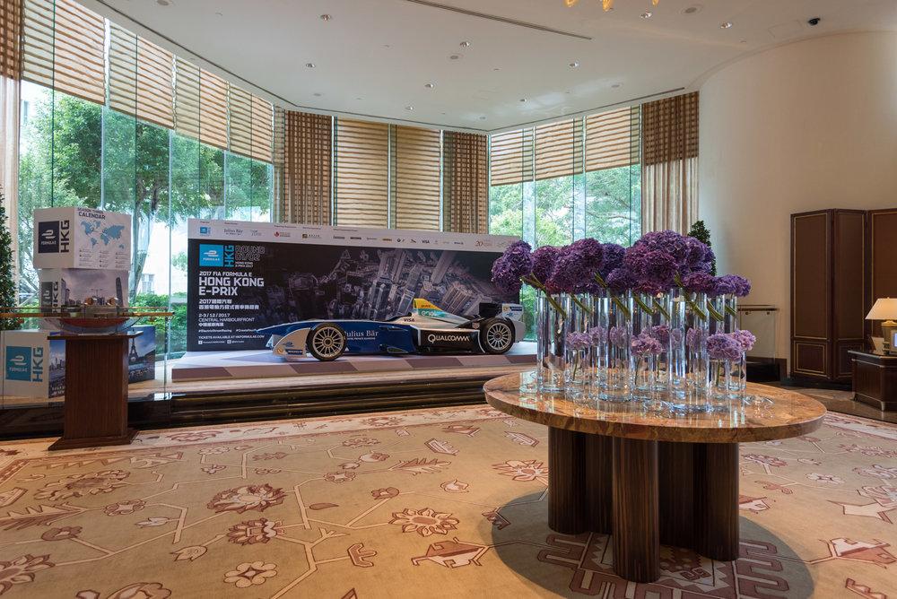 Hotel Lobby Conrad Hong Kong