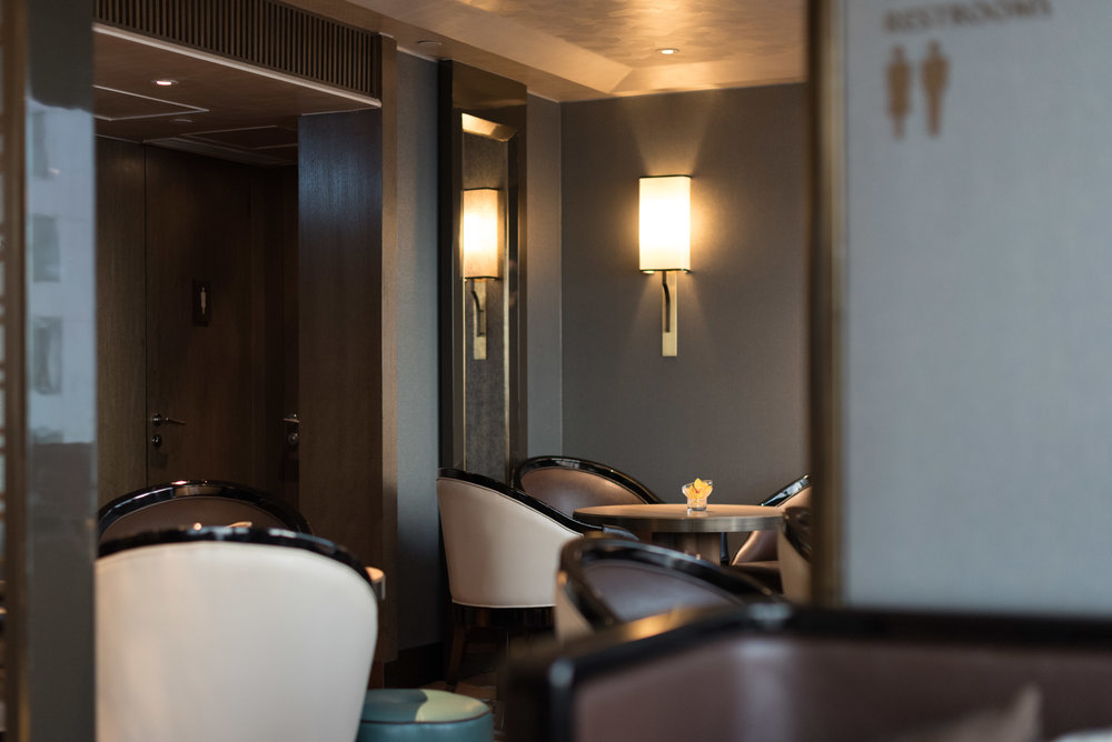 Interiors  Executive Lounge  - Conrad Hong Kong