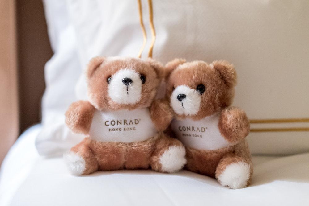 Conrad Teddy Bears Executive Harbour View Room - Conrad Hong Kong